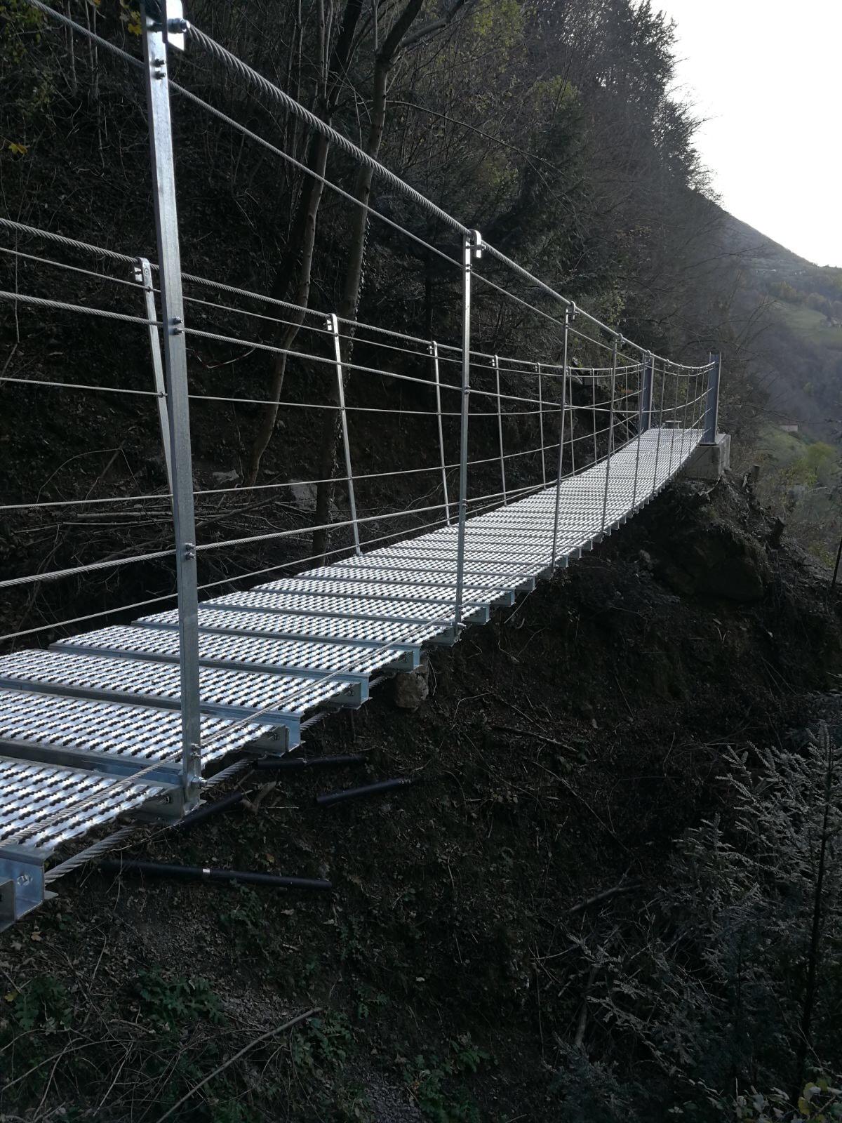 Tibetische Brücke - Detail