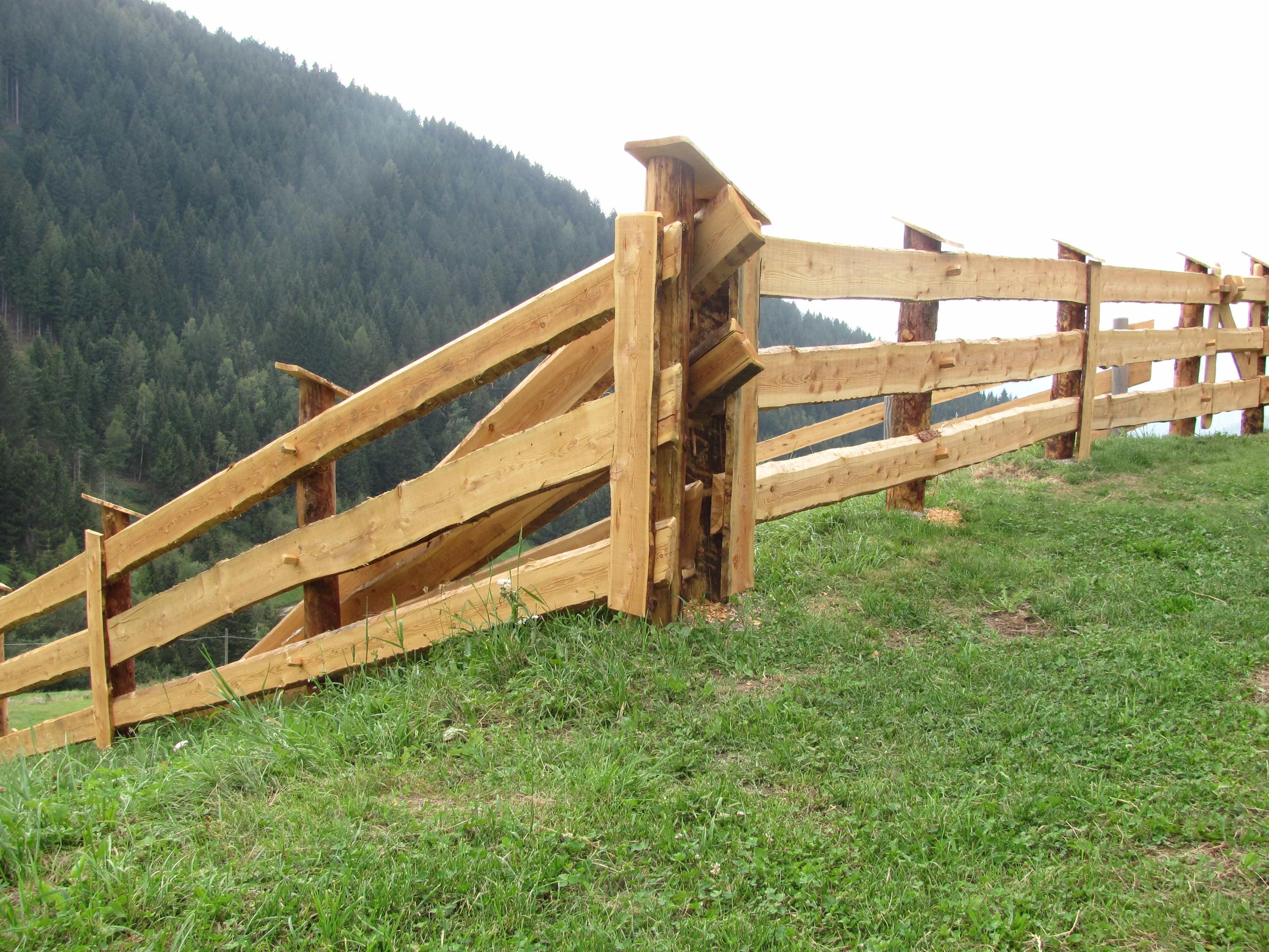 alta quota recinzioni in legno terre armate