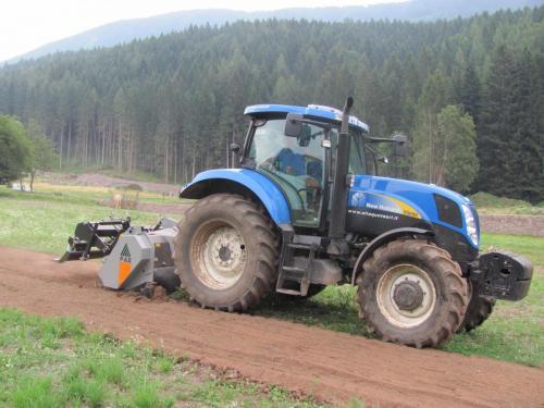 Fresatura terreno agricolo