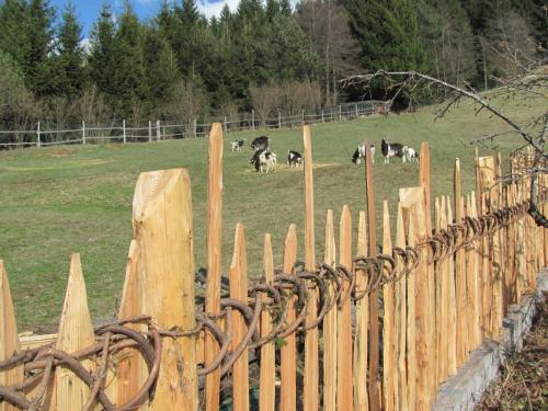 Particolare recinzione in legno