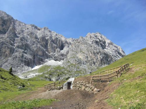 Vasca acquedotto Val Duron